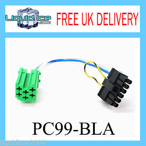 PC99-BLA-Blaupunkt-Patch-Adaptor-Lead-Cable-Stereo-CD