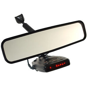 MirrorMount™ Escort Radar Detector Rearview Mirror Mount Passport Redline 9500iX