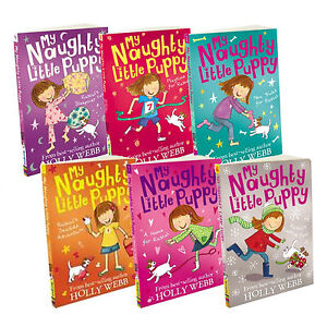 Holly Webb My Naughty Little Puppy 6 Books Collection Pack Set New Tricks Rascal