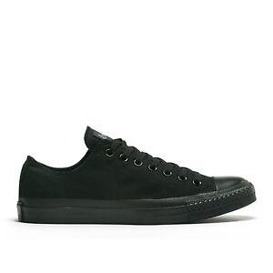 Converse-Chuck-Taylor-All-Star-Black-Mono-Low-Top-Size-3-5-16