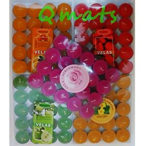 100 Tea Light Candles Unscent + Scent WHOLESALE PRICE