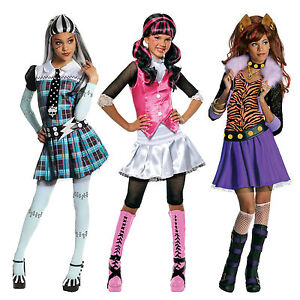 image is loading child toy dolls monster high drakulaura vampire frankie - Clawdeen Wolf Halloween Costume