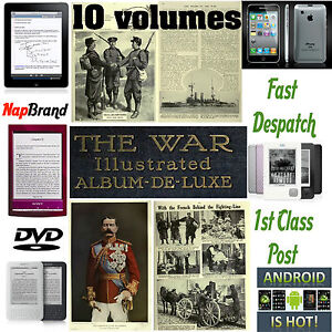 The War Illustrated WW1 10 volumes PDF eBooks 3600 pages over 1000 photos, pics