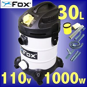 FOX-F50-800-110v-Wet-or-Dry-Vacuum-Cleaner-Dust-Extractor-extraction-3Yr-Gtee