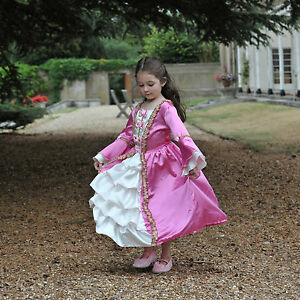 Tudor-Queen-Marie-Antoinette-DLX-fancy-dress-BNWT-3-11yrs-Royal-Princess-Costume