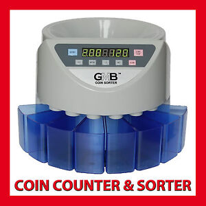 COIN COUNTER AUSTRALIAN SORTER AUTOMATIC MONEY COUNTING MACHINE ★★