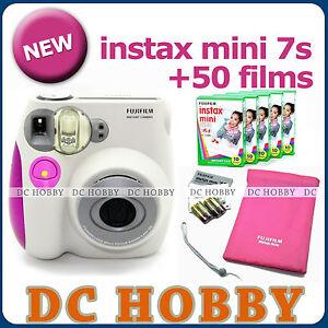 Fuji-instax-mini-7s-Fujifilm-instant-Polaroid-camera-50-film