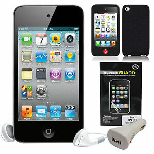 Apple-iPod-Touch-8GB-Black-MP3-Camera-Video-4th-generation-with-free-extras