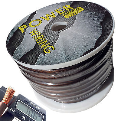4 Gauge Super Flexible Wire 95 Ft Black Roll Spool Feet Awg Hyperflex 95 Feet Us
