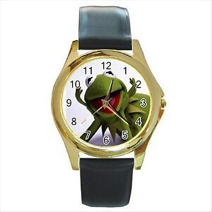 new kermit the frog the muppets quality gold tone