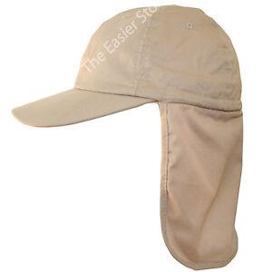 UPF-40-Legionnaires-Cap-Sun-Safe-UV-Protective-Beach-Hat-Men-Women-Ladies-Adult