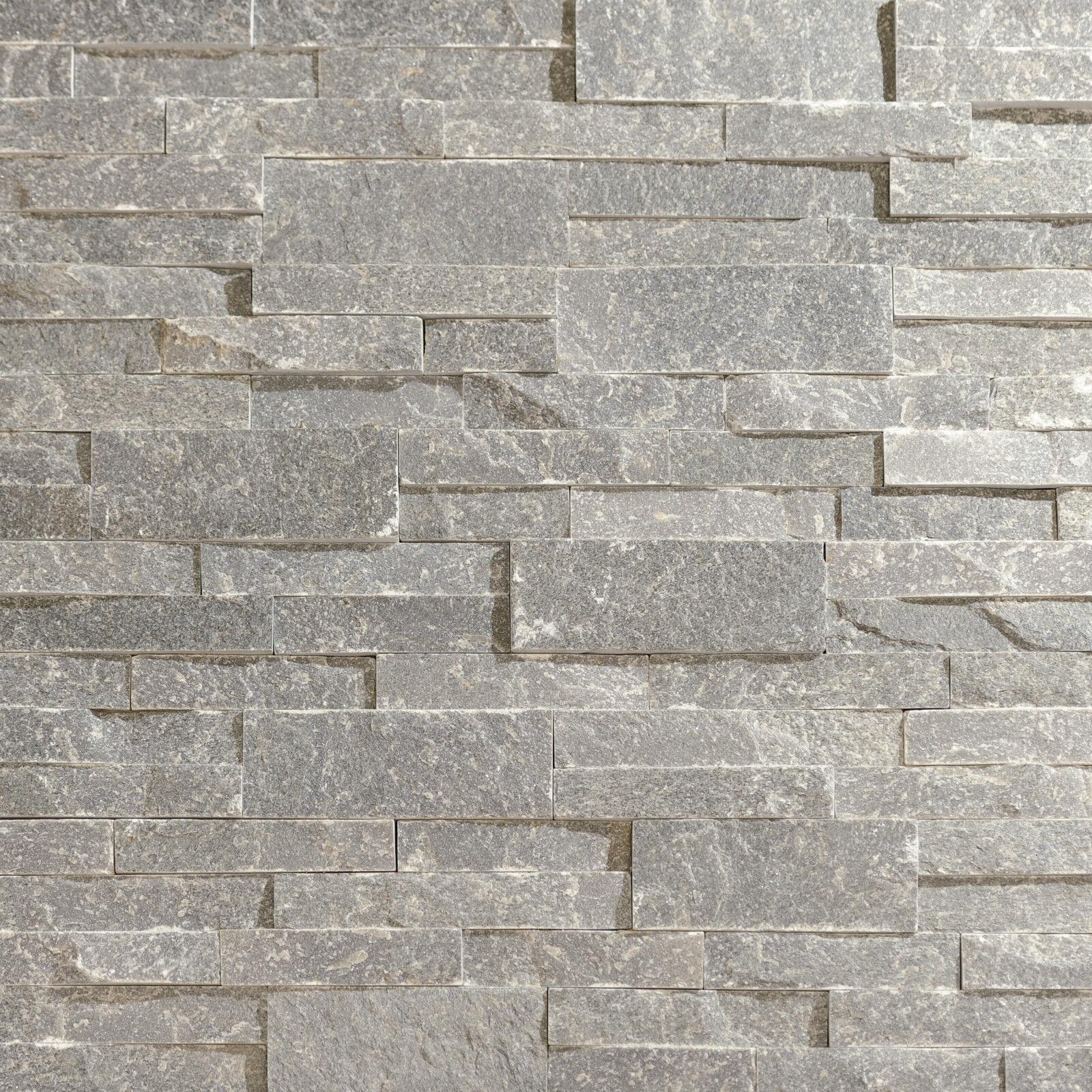 naturstein verblender wandverblender echtstein schiefer bricks grau eur 4 90 picclick de. Black Bedroom Furniture Sets. Home Design Ideas