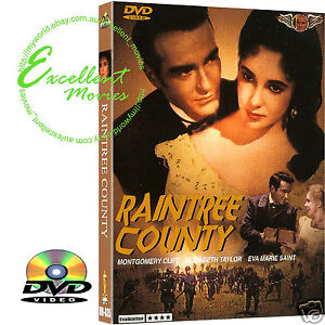 Raintree-County-1957-Elizabeth-Taylor-Montgomery-Clift-NEW-DVD