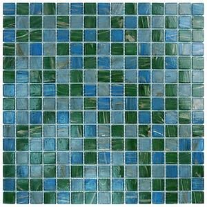 glass tile mkgvb2 blue green copper kitchen backsplash