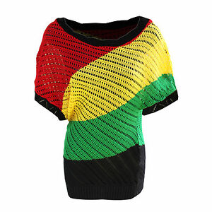 Rasta-Empress-Dress-Top-Mesh-Cool-Rasta-Colors-Jamaica-Bahamas-Hawaii-Reggae-RGY