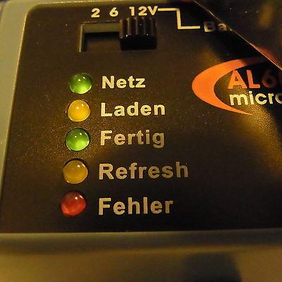 "Auto PKW Motorrad Batterie Ladegerät ""Das Intelligenteste Ihrer Klasse""12V + 6V"