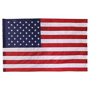 USA 2X3' FLAG POLE HEM BANNER SLEEVE POCKET US AMERICAN