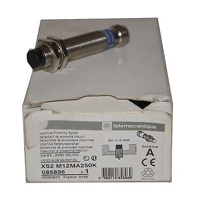 Telemecanique Xs2 M12ma250k Inductive Proximity Switch --sa