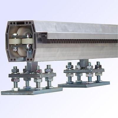 Tor-Bausatz Aluminium Schiebetor Profilbausatz LD 6,0 m LRP 90A