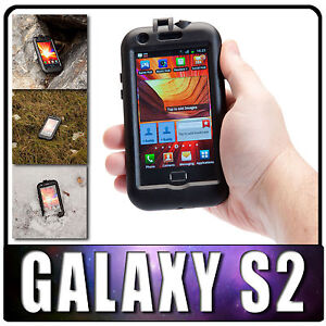 UltimateAddons Hard Waterproof Tough Case for Samsung Galaxy S2 SII i9100 S 2 II