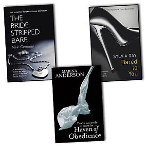 Bared to You, The Bride Stripped Bare, Haven of Obedience 3 Books Collection New