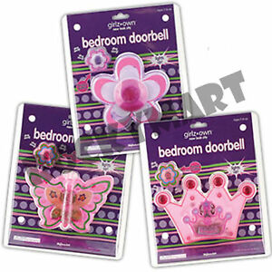 Girls bedroom doorbell