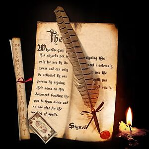 Harry Potter / Hogwarts style Spellwriting Quill