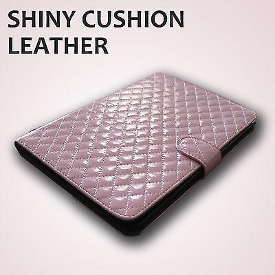 Fits Perfect Apple Ipad Mini 7.9 Faux Leather Finish Folding Case Pink