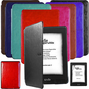 ULTRA-SLIM-CASE-COVER-LEATHER-HARD-SHELL-for-KINDLE-PAPERWHITE-SCREEN-PROTECTO