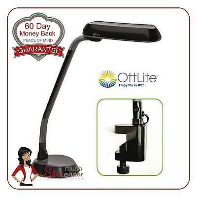 Ott-lite Natural Daylight Desk Craft Lamp Ottlite Lamps Ottlight Reading Light