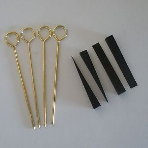 Piano-tuning-rubber-mutes-Set-of-4-w-handles-3-x3-8