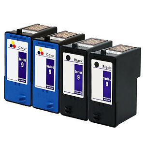 4-PK-Dell-Series-9-Black-Color-Ink-Cartridge-MK990-MK991