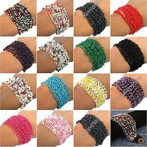 Multilayer-millet-Beads-Charm-chain-Handmade-Bracelet-for-best-gift
