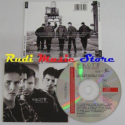 CD NKOTB Face the music 1994 COLUMBIA AUSTRIA 474359 2 NO lp mc dvd vhs