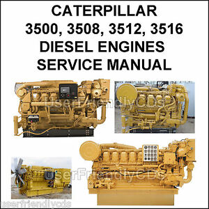 Caterpillar 3508 engine manual