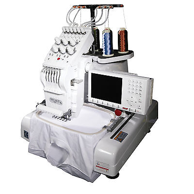 SWF 6 Needle Commercial Embroidery Machine Generations Brother Babylock MA 6