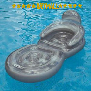 Intex Folding Lounge Chair Swimming Pool Inflatable Float