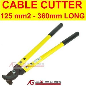 Cable Wire Cutter 125mm 178 Copper Battery Lead Cutters Ebay