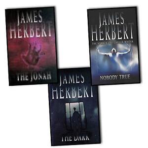 James-Herbert-3-Books-Collection-Pack-Set-The-Dark-NoBody-True-The-Jonah-Chiller