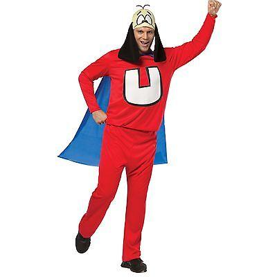 Adult OS Cartoon TV Show Shoeshine Boy Underdog Under Dog Superhero Hero Costume