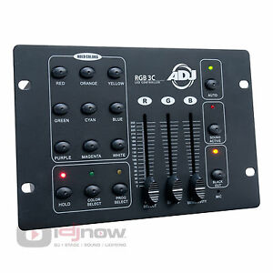 AMERICAN DJ RGB3C LED WASH LIGHTING DMX CONTROLLER COLOR MIXER RGB 3C 3 C
