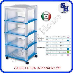 CASSETTIERA-PLASTICA-STEFANPLAST-4-CASSETTI-CON-RUORE-MIS-40X40XH-80 ...