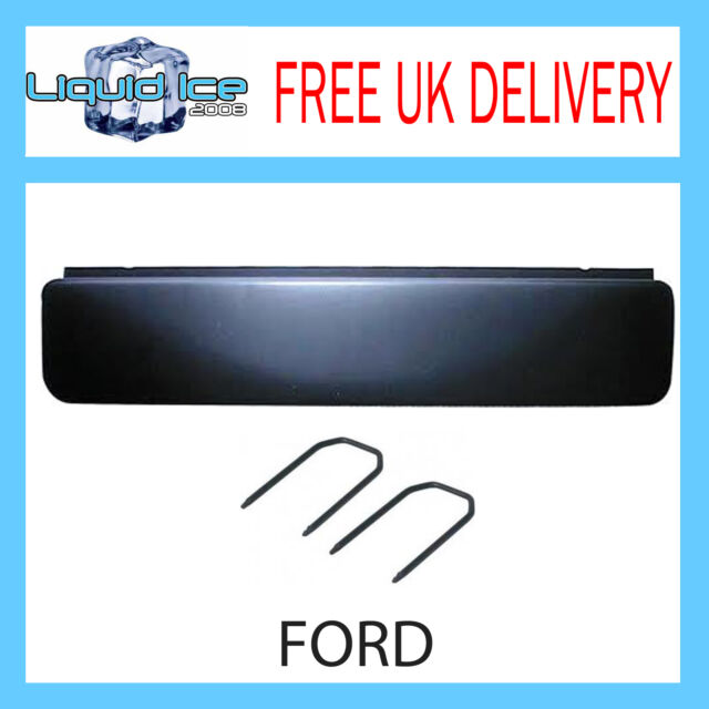FP-07-02 Ford Cougar Explorer Focus Galaxy Fascia Facia Adaptor Panel BLACK
