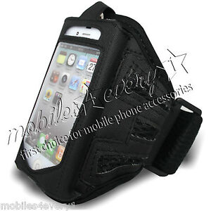 SPORTS RUNNING JOGGING GYM CYCLING ARMBAND CASE POUCH FOR VARIOUS MOBILE PHONES