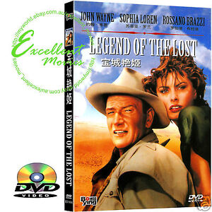Legend of the Lost - John Wayne,Sophia Loren - NEW DVD