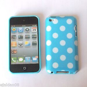 NEW POLKA DOT SERIES SOFT GEL CASE COVER SKIN FITS iPOD TOUCH 4 4G 4TH GEN -