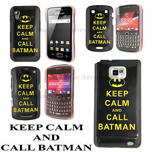 Keep-Calm-and-Call-Batman-Hard-Back-Case-Cover-Available-for-Many-Mobile-Phones