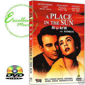 A-Place-in-the-Sun-1951-Elizabeth-Taylor-NEW-DVD