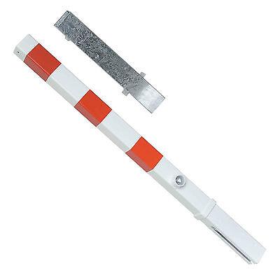 Absperrpfosten, Feuerwehrpfosten, 70 x 70 mm, herausnehmbar, Dreikantverschluß
