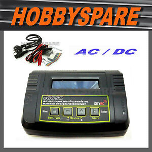 NEW-SKYRC-AC-DC-QUICK-BALANCE-BATTERY-CHARGER-LiPo-NiMH-TRAXXAS-DEANS-TAMIYA
